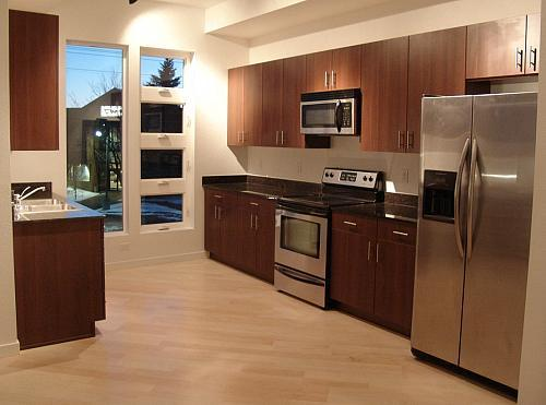 Stainless steel kitchen cabinets - The Denver Kitchen Company Fine Kitchen Design